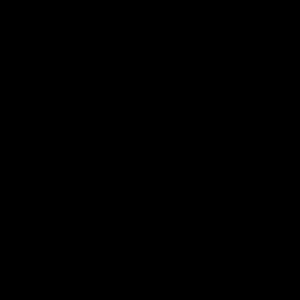 naklejki ścienne BALONY w paski, serduszka 5szt 45x45cm