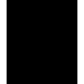 naklejki CHMURKA 57x31cm + KROPLE DESZCZU - zestaw 12 szt