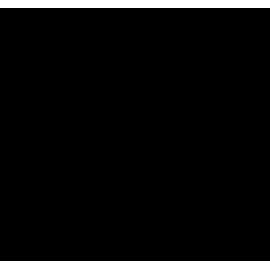 zestaw naklejek CHMURKI 4 szt 25x13,5 cm + KROPLE DESZCZU