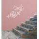 naklejka KWIAT RÓŻA, 60 kolorów, arkusz 95x45 cm