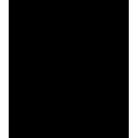zestaw naklejek CHMURKI 3 szt 25x13,5cm + KROPLE DESZCZU