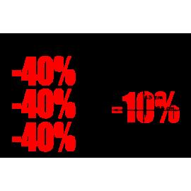naklejki PROCENT -40% wzór nr 23