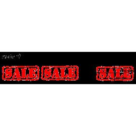 naklejki napis SALE wzór nr 4 XL