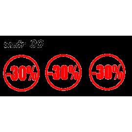 naklejki napis PROCENT -30% wzór nr 30 XL